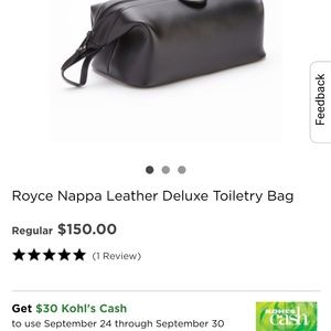 Royce Leather Bags - Royce Leather Toiletry bag